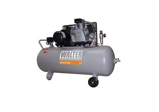 Stūmoklinis oro kompresorius su 200 litrų resiveriu WALTER GK530-3,0/200